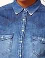 Image 3 ofRiver Island Texas Denim Shirt