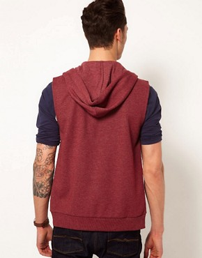 Image 2 ofASOS Sleeveless Hoodie