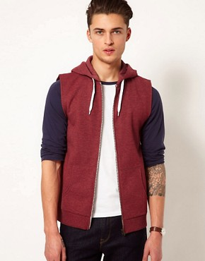 Image 1 ofASOS Sleeveless Hoodie