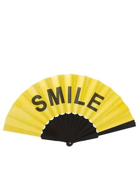 Image 3 ofASOS Smile Fan
