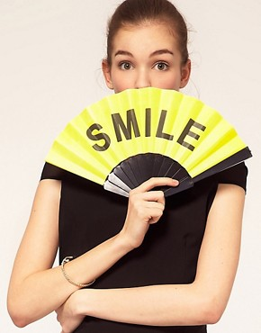 Image 1 ofASOS Smile Fan