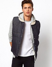 Another Influence Denim Gilet