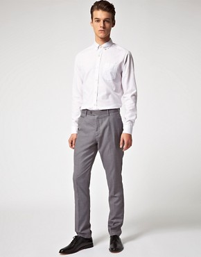 Image 4 ofASOS Slim Fit Smart Trousers