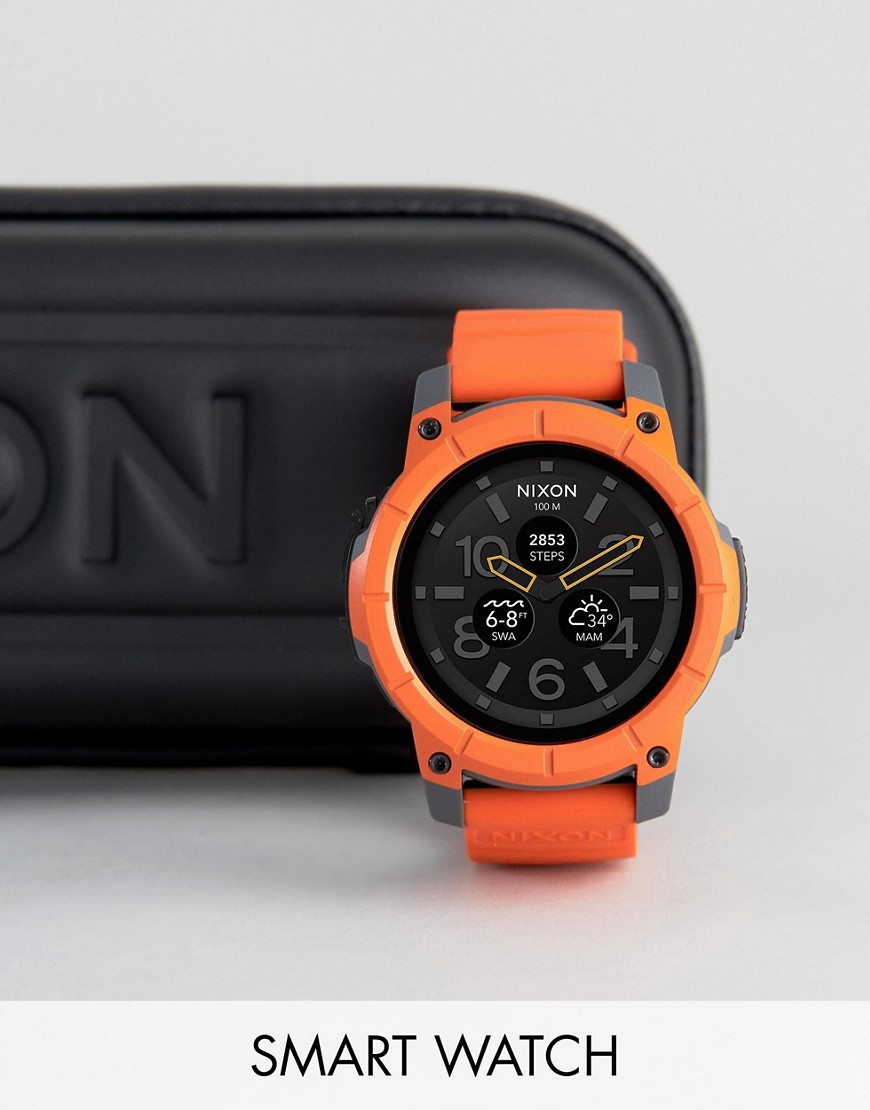 nixon-the-mission-smart-watch-in-orange-orange