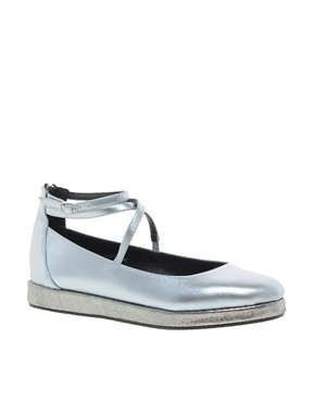 Image 1 ofASOS LANDING Flat Shoes