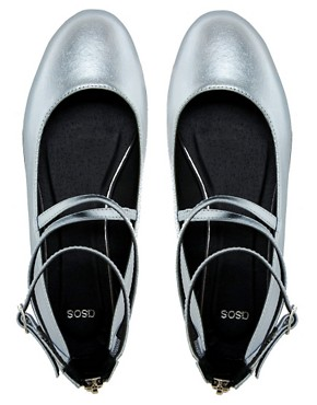 Image 3 ofASOS LANDING Flat Shoes