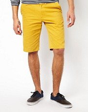 Solid  Chino-Shorts
