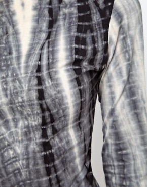 Image 3 ofGlamorous Midi Dress in Tie Dye with Zip Back