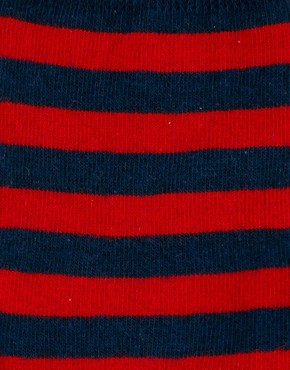 Image 2 ofASOS Rugby Stripe 5 Pack Sock