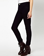 River Island Molly Skinny Jeans in Navy