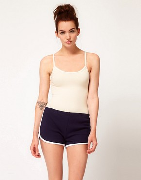 Image 1 ofAmerican Apparel Cotton Stretch Basic Bodysuit