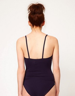 Image 2 ofAmerican Apparel Cotton Stretch Basic Bodysuit