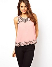 Lipsy Deco Beaded Top