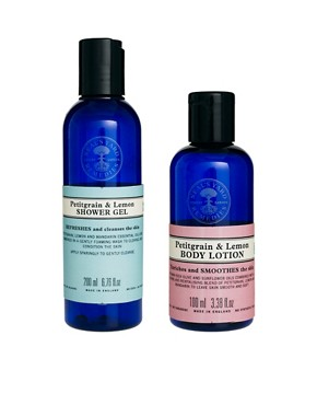 Image 2 ofNeal&#39;s Yard Remedies Petitgrain &amp; Lemon Shower &amp; Bodycare Collection