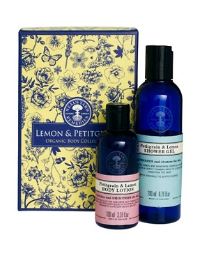 Image 1 ofNeal&#39;s Yard Remedies Petitgrain &amp; Lemon Shower &amp; Bodycare Collection