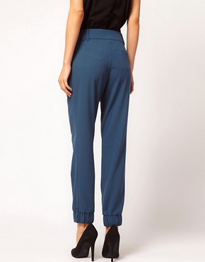 Image 2 ofASOS Trousers With Elastic Cuff