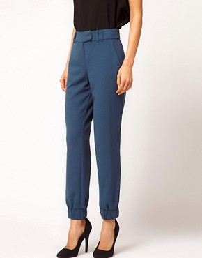 Image 4 ofASOS Trousers With Elastic Cuff
