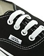 Bild 3 von Vans Authentic  Klassische Turnschuhe zum Schnren in Schwarz und Wei