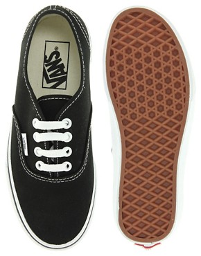 Bild 4 von Vans Authentic  Klassische Turnschuhe zum Schnren in Schwarz und Wei