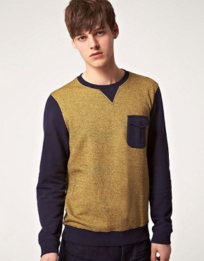 Image 1 ofASOS Sweatshirt With Pocket