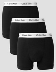Calvin Klein  Elastische Baumwoll-Unterhosen im 3er-Pack