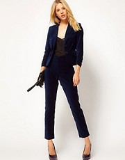 ASOS Velvet Tux Trousers
