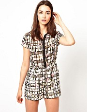A Wear Printed Playsuit