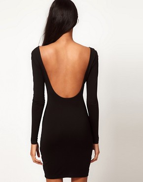 Image 2 ofASOS Mini Dress with Embellished Shoulder