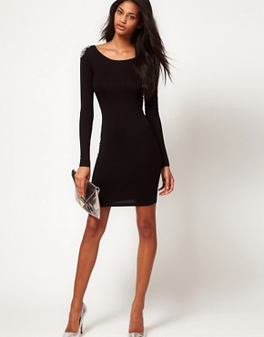 Image 4 ofASOS Mini Dress with Embellished Shoulder