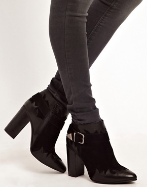 Image 4 ofASOS ANIMATE Leather Ankle Boots
