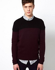 Plectrum By Ben Sherman Long Sleeved Crew Neck