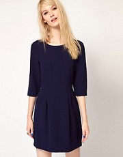 Paul and Joe Sister Shift Dress with Tuck Details