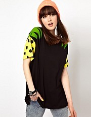 Lazy Oaf Pineapple Sleeve T-Shirt