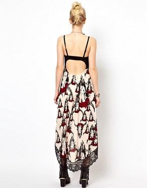Image 2 ofFreak Of Nature Hi Lo Dress In Desert Rose Print