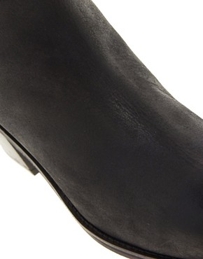 Image 2 ofASOS ARIELLE Leather Ankle Boots with Chisel Toe