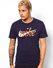 Nike T-Shirt With Retro Logo