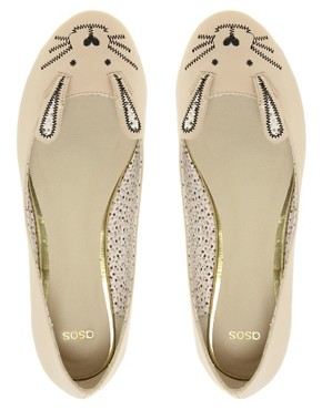Image 2 ofASOS LITTLE MISS Ballet Flats