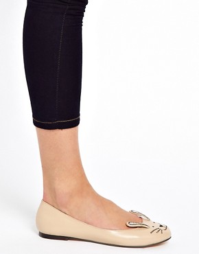 Image 3 ofASOS LITTLE MISS Ballet Flats