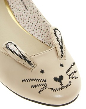 Image 4 ofASOS LITTLE MISS Ballet Flats