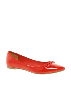 Image 1 ofASOS LIVE Pointed Ballet Flats
