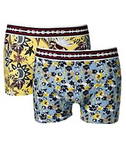 Selected Floral 2 Pack Trunks