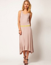 71 Stanton Jersey Dress with Cutout Back