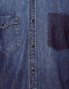 Image 3 ofSelected Denim Shirt