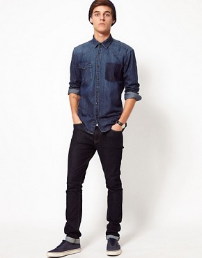 Image 4 ofSelected Denim Shirt