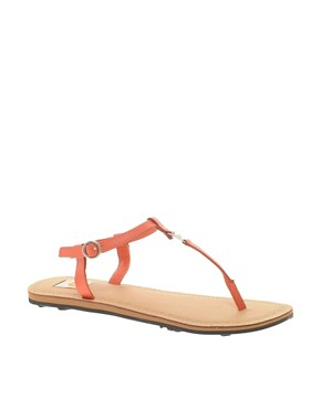 Image 1 ofRoxy Leather Strap Sandals