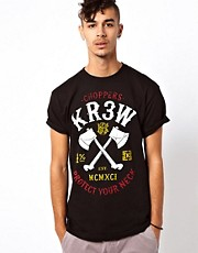 KR3W  T-Shirt mit Choppers-Logo