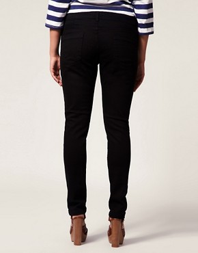 Image 2 ofASOS CURVE Black Skinny Jean