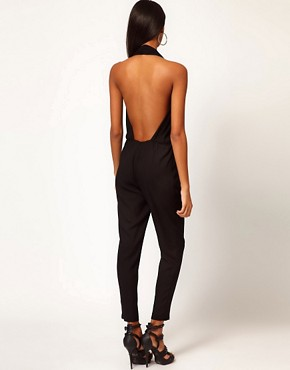 Image 2 ofASOS Sexy Halter Jumpsuit