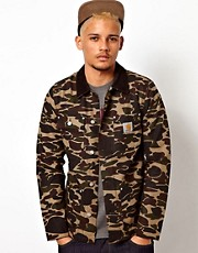 Carhartt Coat Michigan Canvas Camo