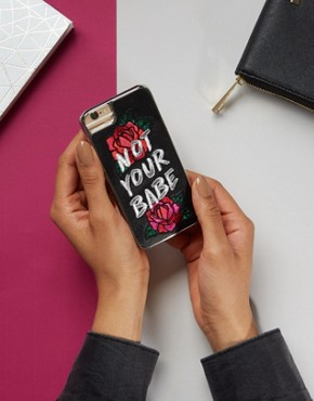 Skinnydip Not Your Babe iPhone 6/6S/7 Case